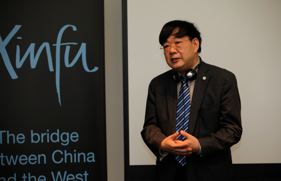 Tsinghua Tongfang chairman of Rong YongLin: Britain is a country full of modern vitality
